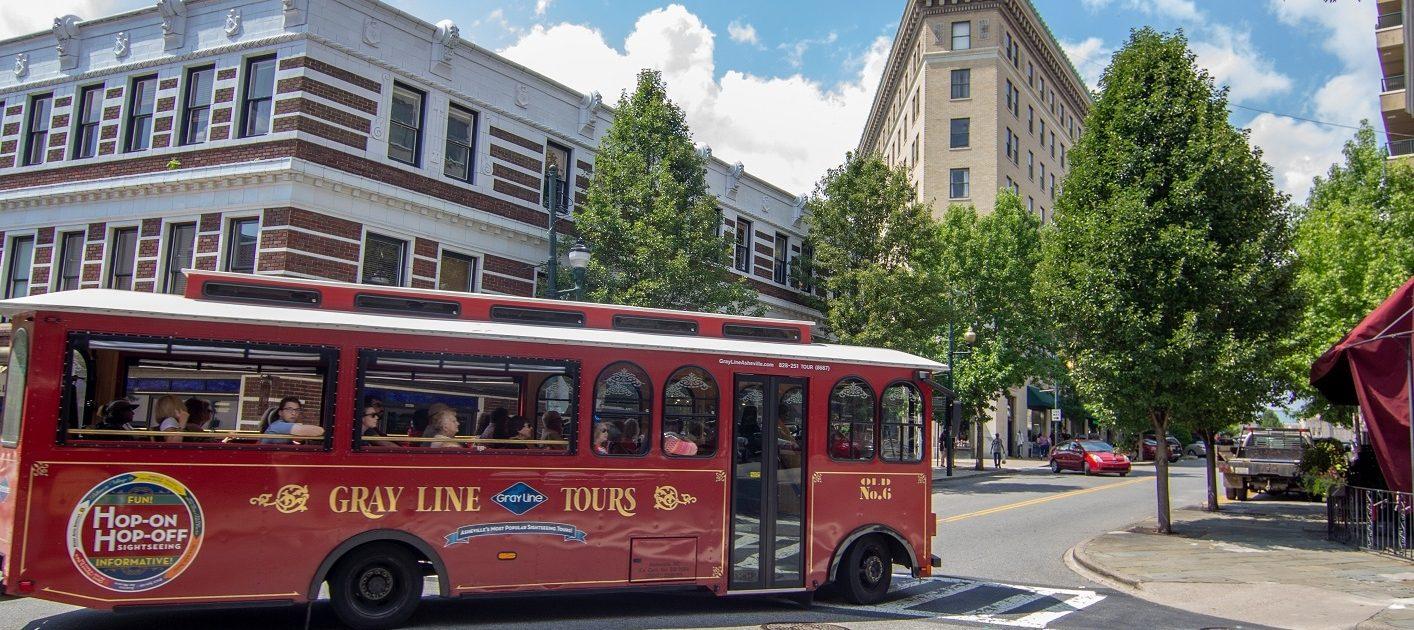 Gray Line Tour Bus